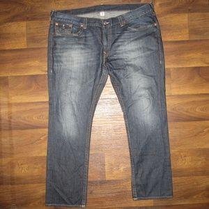 True Religion Jean Slim fit Flap Denim Size 46